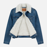 Женская джинсовая куртка Levi's Authentic Sherpa Movin Shakin фото- 2
