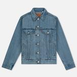 Женская джинсовая куртка Levi's Ex-Boyfriend Trucker Dream Of Life фото- 0