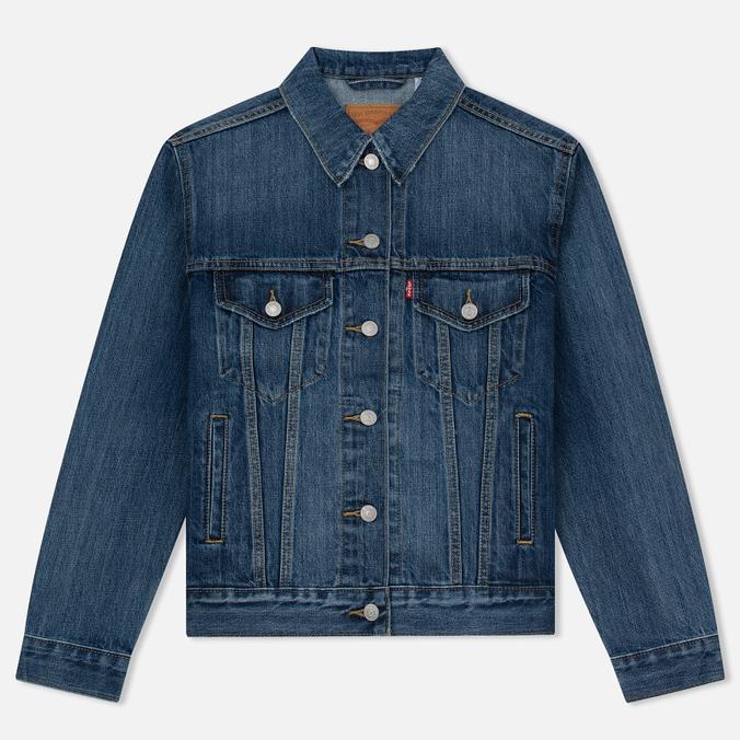 Женская джинсовая куртка Levi's Ex-Boyfriend Trucker Groovesmarks