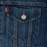 Женская джинсовая куртка Levi's Ex-Boyfriend Trucker Groovesmarks фото- 4