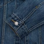 Женская джинсовая куртка Levi's Ex-Boyfriend Trucker Groovesmarks фото- 5