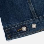 Женская джинсовая куртка Levi's Ex-Boyfriend Trucker Groovesmarks фото- 6