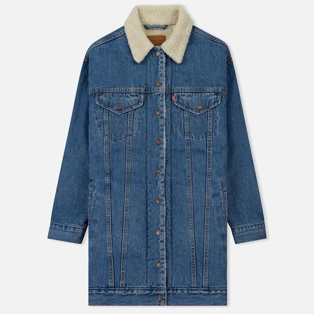 Женская джинсовая куртка Levi's Lengthened Sherpa Trucker Love Shack