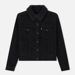 Женская джинсовая куртка Levi's Original Sherpa Trucker Forever Black фото- 0
