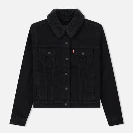 Женская джинсовая куртка Levi's Original Sherpa Trucker Forever Black
