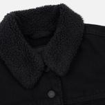 Женская джинсовая куртка Levi's Original Sherpa Trucker Forever Black фото- 1