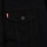 Женская джинсовая куртка Levi's Original Sherpa Trucker Forever Black фото- 2