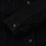 Женская джинсовая куртка Levi's Original Sherpa Trucker Forever Black фото- 4