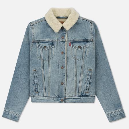 Женская джинсовая куртка Levi's Original Sherpa Trucker Strangeways