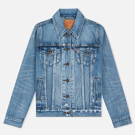 Женская джинсовая куртка Levi's Trucker Blue Wonder