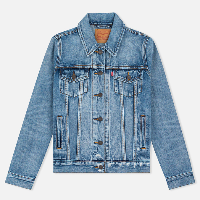 Levi's Trucker Women's Denim Blue Wonder