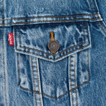Levi's Trucker Women's Denim Blue Wonder photo- 2