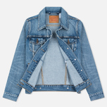 Levi's Trucker Women's Denim Blue Wonder photo- 5