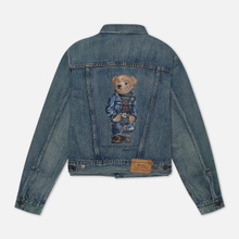Женская джинсовая куртка Polo Ralph Lauren Bear Trucker Storms Wash Medium Indigo фото- 3