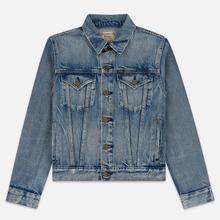 Женская джинсовая куртка Polo Ralph Lauren Denim Trucker 13.5 Oz Fontaine Wash Light Indigo фото- 0