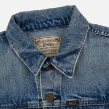 Женская джинсовая куртка Polo Ralph Lauren Denim Trucker 13.5 Oz Fontaine Wash Light Indigo фото- 1