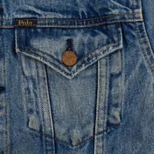 Женская джинсовая куртка Polo Ralph Lauren Denim Trucker 13.5 Oz Fontaine Wash Light Indigo фото- 2