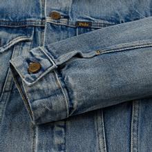Женская джинсовая куртка Polo Ralph Lauren Denim Trucker 13.5 Oz Fontaine Wash Light Indigo фото- 4