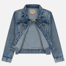 Женская джинсовая куртка Polo Ralph Lauren Denim Trucker 13.5 Oz Fontaine Wash Light Indigo фото- 5