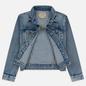 Женская джинсовая куртка Polo Ralph Lauren Denim Trucker 13.5 Oz Fontaine Wash Light Indigo фото - 5