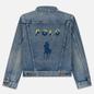 Женская джинсовая куртка Polo Ralph Lauren Denim Trucker 13.5 Oz Fontaine Wash Light Indigo фото - 6