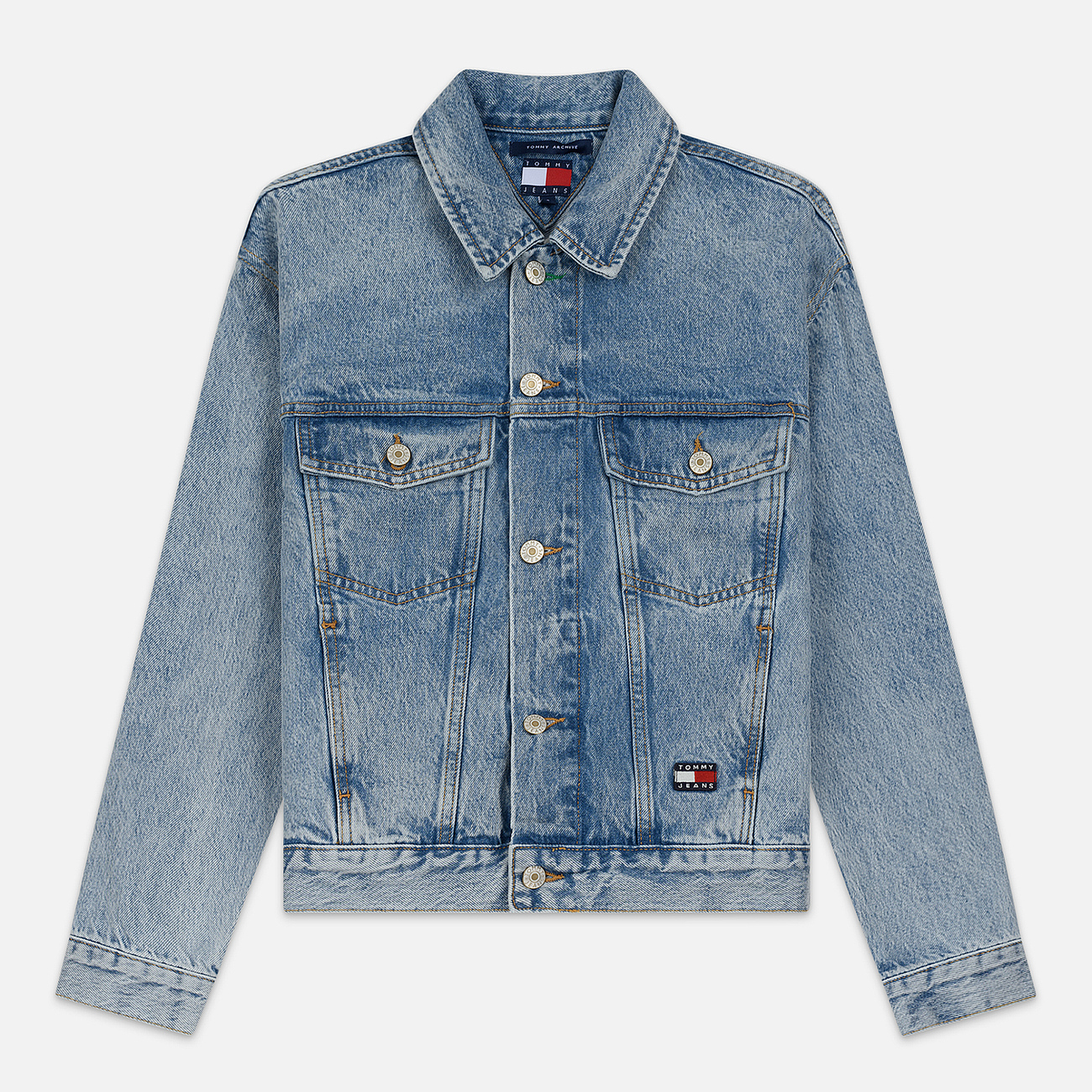 Женская джинсовая куртка Tommy Jeans Heritage Denim Light Blue