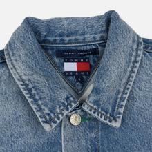Женская джинсовая куртка Tommy Jeans Heritage Denim Light Blue фото- 2