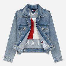 Женская джинсовая куртка Tommy Jeans Heritage Denim Light Blue фото- 1