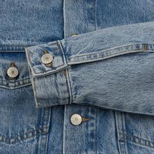 Женская джинсовая куртка Tommy Jeans Heritage Denim Light Blue фото- 4