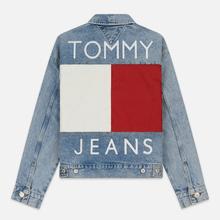 Женская джинсовая куртка Tommy Jeans Heritage Denim Light Blue фото- 5