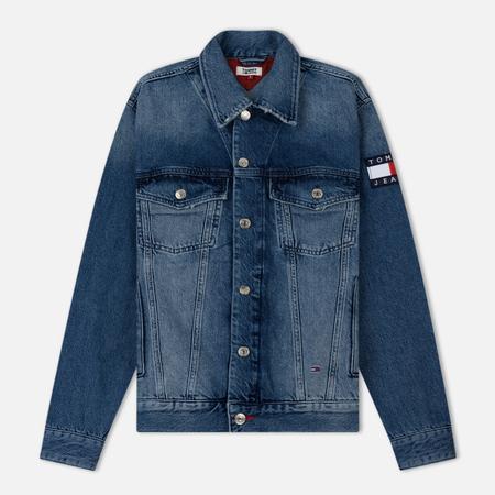 Женская джинсовая куртка Tommy Jeans Oversized Trucker Sydney Mid Blue
