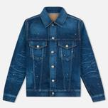 Женская джинсовая куртка YMC Japanese Denim Indigo фото- 0