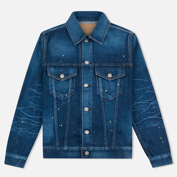 Женская джинсовая куртка YMC Japanese Denim Indigo