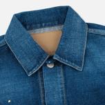 Женская джинсовая куртка YMC Japanese Denim Indigo фото- 1