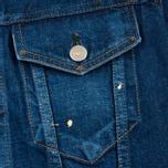 Женская джинсовая куртка YMC Japanese Denim Indigo фото- 2