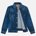 Женская джинсовая куртка YMC Japanese Denim Indigo фото- 3