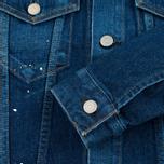 Женская джинсовая куртка YMC Japanese Denim Indigo фото- 4