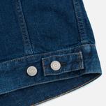 Женская джинсовая куртка YMC Japanese Denim Indigo фото- 5