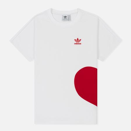 Женская футболка adidas Originals Valentine's Day White