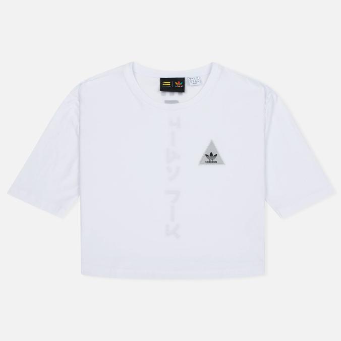 Женская футболка adidas Originals x Pharrell Williams HU Loose White