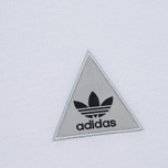 Женская футболка adidas Originals x Pharrell Williams HU Loose White фото- 2
