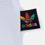 Женская футболка adidas Originals x Pharrell Williams HU Loose White фото- 4