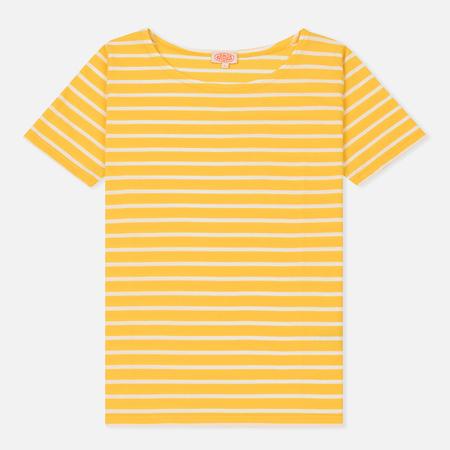 Женская футболка Armor-Lux Mariniere Heritage Yellow Cytise/Milk
