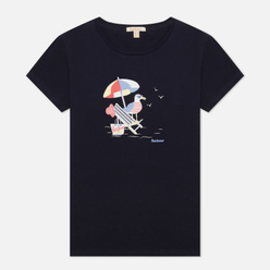 Женская футболка Barbour Amber Navy