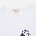 Женская футболка Barbour Brae Bird White фото- 1