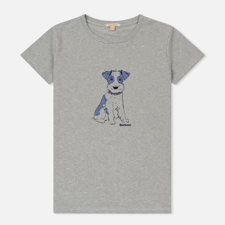 Женская футболка Barbour Broom Light Grey