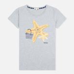 Женская футболка Barbour Chock Grey Marl фото- 0