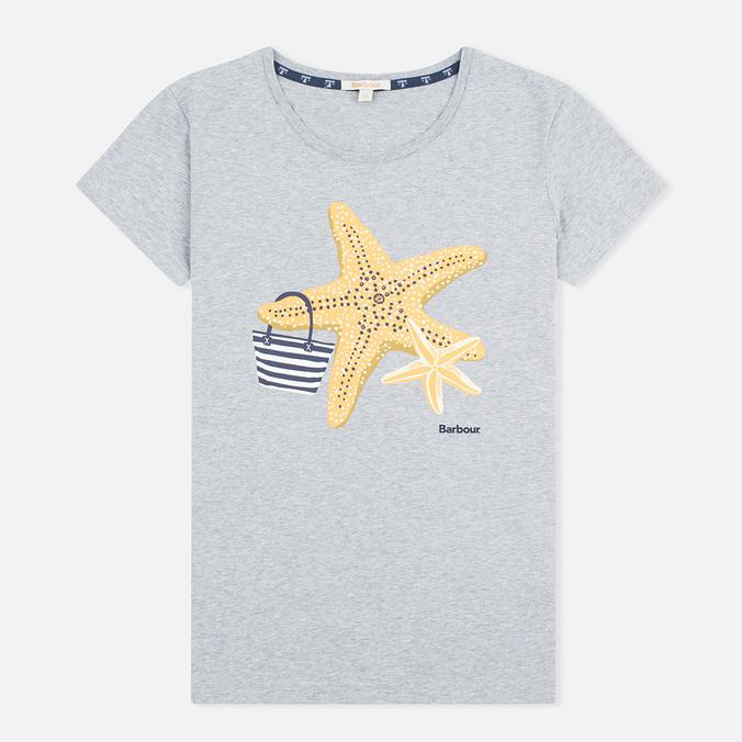 Женская футболка Barbour Chock Grey Marl