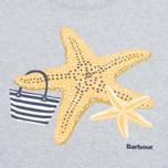 Женская футболка Barbour Chock Grey Marl фото- 2
