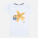 Barbour Chock Women's t-shirt White photo- 0